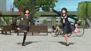 【東方MMD】そばかす式むらぬえで「ダンスロボットダンス」、固定カメラ