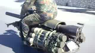 無反動砲を積んだスクーター ベスパ150TAP