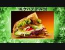 世界で一番美味しい食べ物 ランキングベスト50