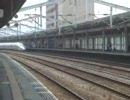 500系新幹線 徳山駅にて