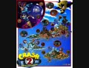 Crash Bandicoot 2 - Hang Eight, Air Crash, Plant Food Stage