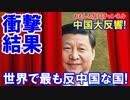 【中国で大反響】 世界で最も反中国な国!予想どおりのあの国だった!