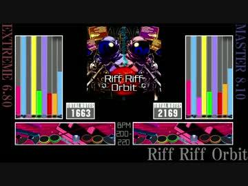 gitadora riff riff orbit re evolve by うぐいす ゲーム 動画