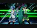 【MMD】カラフルポップビート (大葉式&お宮式初音ミク)【Ray-MMD】