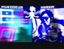 My voice vs H.K.N ボイパ対決 Bad Apple!!