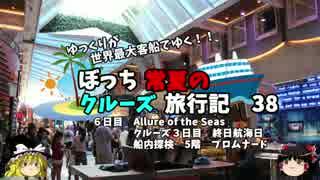【ゆっくり】クルーズ旅行記 38 Allure of the Seas 船内探検 5階
