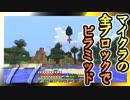 【Minecraft】マイクラの全ブロックでピラ