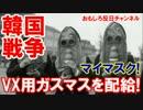 【韓国政府が国民に推奨】 VXガス対策にガスマスクを買いなさい!