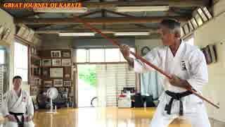 65歳の沖縄空手家の武器術が凄すぎる