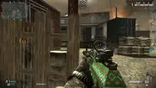 【CoD:Ghosts】 スクワッドモード Domination @ Warhawk