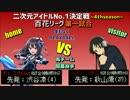 【パワプロ2016】二次元アイドルNo.1決定戦4開幕戦百花 East対ガルバン