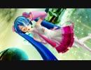 【MMD】 ピンクならぶさんが真似っ子でポン