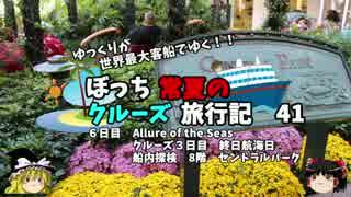 【ゆっくり】クルーズ旅行記 41 Allure of the Seas 船内探検 8階