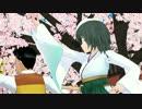 【MMD】木曾と花見でシュガーソングとビターステップ【艦これ】