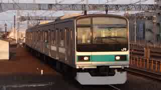 金町駅(JR常磐緩行線)を発着する列車を撮ってみた