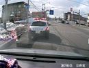 第36位:警察の前で堂々と違反する車