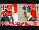 第20位:【韓国の余命は残り1年】 中国との格差が無くなった!もうダメだ!