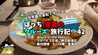 【ゆっくり】クルーズ旅行記 42 Allure of the Seas 船内探検 9~14階