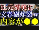 【衝撃】辻元清美に文春砲炸裂www記事内容が酷すぎて批判殺到w