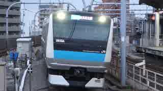赤羽駅(JR京浜東北線)を発着する列車を撮ってみた