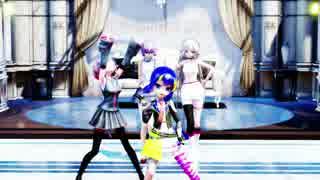 ウナ重とゆかりさん達にヒビカセを踊ってもらいました(MMD)