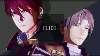 【MMD刀剣乱舞】 GLIDE 【長谷部・大包平】