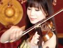 """【石川綾子】""""美女と野獣""""二役同時にヴァイオリンで演奏してみた"""