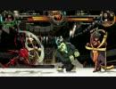 (Skullgirls)スカルガールズ 対戦動画140  Part.2 ベオ/ペイン VS 傘/イライザ