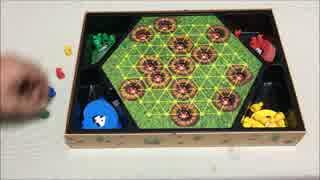 フクハナのひとりボードゲーム紹介 No.143『穴掘りモグラ』
