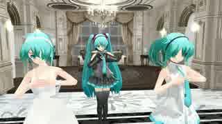 【初音ミク】 Girls(EasyPop) 【MMD】(らぶ式ミク)