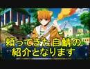 【FateGO】フレンド以外レベル1で1部完走:自鯖紹介動画