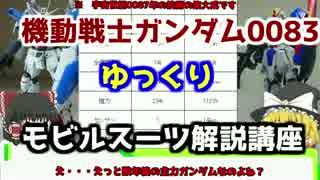 【機動戦士ガンダム0083】ガンダム試作1号機Fb解説 【ゆっくり解説】part5