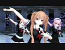 【艦これMMD】10人で被害妄想携帯女子(笑)【白露型姉妹】