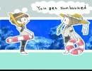 【手描き刀剣乱舞】前田君と平野君でmurmur twins