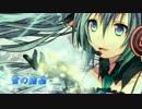 【初音ミク†ピアス】 雪の結晶 【MMD-PV付きオリジナル曲】