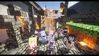 【Minecraft】ほのぼの勢力クラフト-part23- 最終回【結月ゆかり実況】