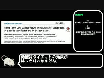 低糖質ダイエットについて検証してみたPart1