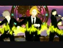 【MMDヒロアカ】Sweet Devil colate rimix【上鳴・切島・瀬呂・爆豪】