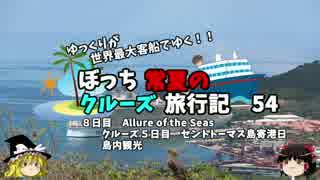 【ゆっくり】クルーズ旅行記 54 Allure of the Seas セントトーマス観光