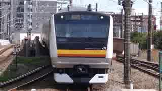 尻手駅(JR南武線・南武支線)を通過・発着する列車を撮ってみた