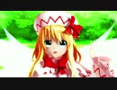 【東方MMD】リリーホワイトと姫海棠さんでオツキミリサイタル