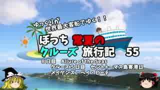【ゆっくり】クルーズ旅行記 55 Allure of the Seas メイゲンズビーチ