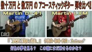 【オリジナル曲】「深海魚」【価格差10倍!?アコギ弾き比べ】