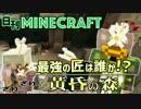 【日刊Minecraft】最強の匠は誰か!?黄昏の森 冒険へGO!4日目【4人実況】