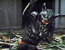 第51位:仮面ライダーX 第18話「恐い! ゴッドの化けネコ作戦だ!」