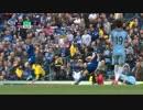 [別英語実況]岡崎スーパーゴール vs Manchester City 13,May,2017