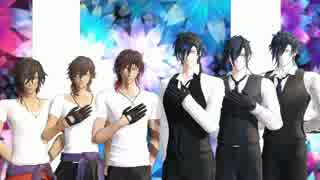 【MMD刀剣乱舞】Hand in Hand【燭×3、くり×3】