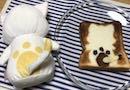 【トーストアートに挑戦!】食パンの焦げ目でマモニャンを作ったよ!