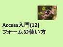 Access入門(12)フォームの使い方