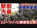 第4位:【韓国ソウル駅前が臭すぎる】 シューズツリーに無慈悲な雨!